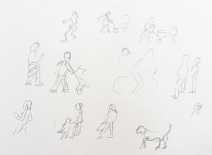 Astrid Amadeo, Urban Sketching, Blogg, Astrid Schmid, Sommerkurs, Zeichnen in Zürich