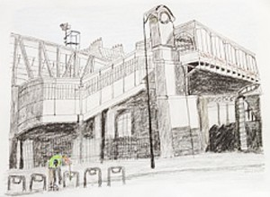 Astrid Amadeo, Urban Sketching, Albert Mauerhofer, Atelier Paris
