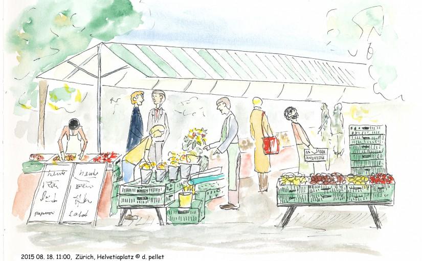 Sommerkurs Markt Helvetiaplatz