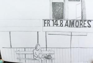 Astrid Amadeo Urban Sketching Zürich