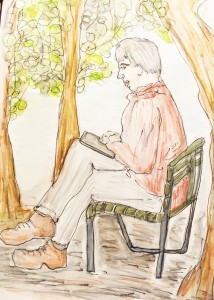 Astrid Amadeo, Urban Sketching, Blog