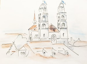 Astrid Amadeo, Urban Sketching, Blog