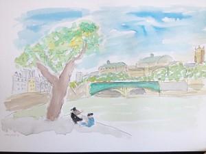 Astrid Amadeo,Blog, Astrid Schmid, Zeichnen in Zürich,Urban Sketching,