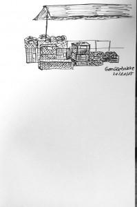 Vanessa W._Gemüsebrücke, urban sketching,astrid amadeo, astrid schmid, zeichnen in zürich