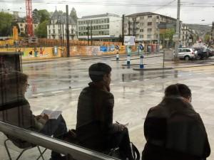 vor dem Kunsthausrestaurant,16.5.16 Zürich Urban Sketching