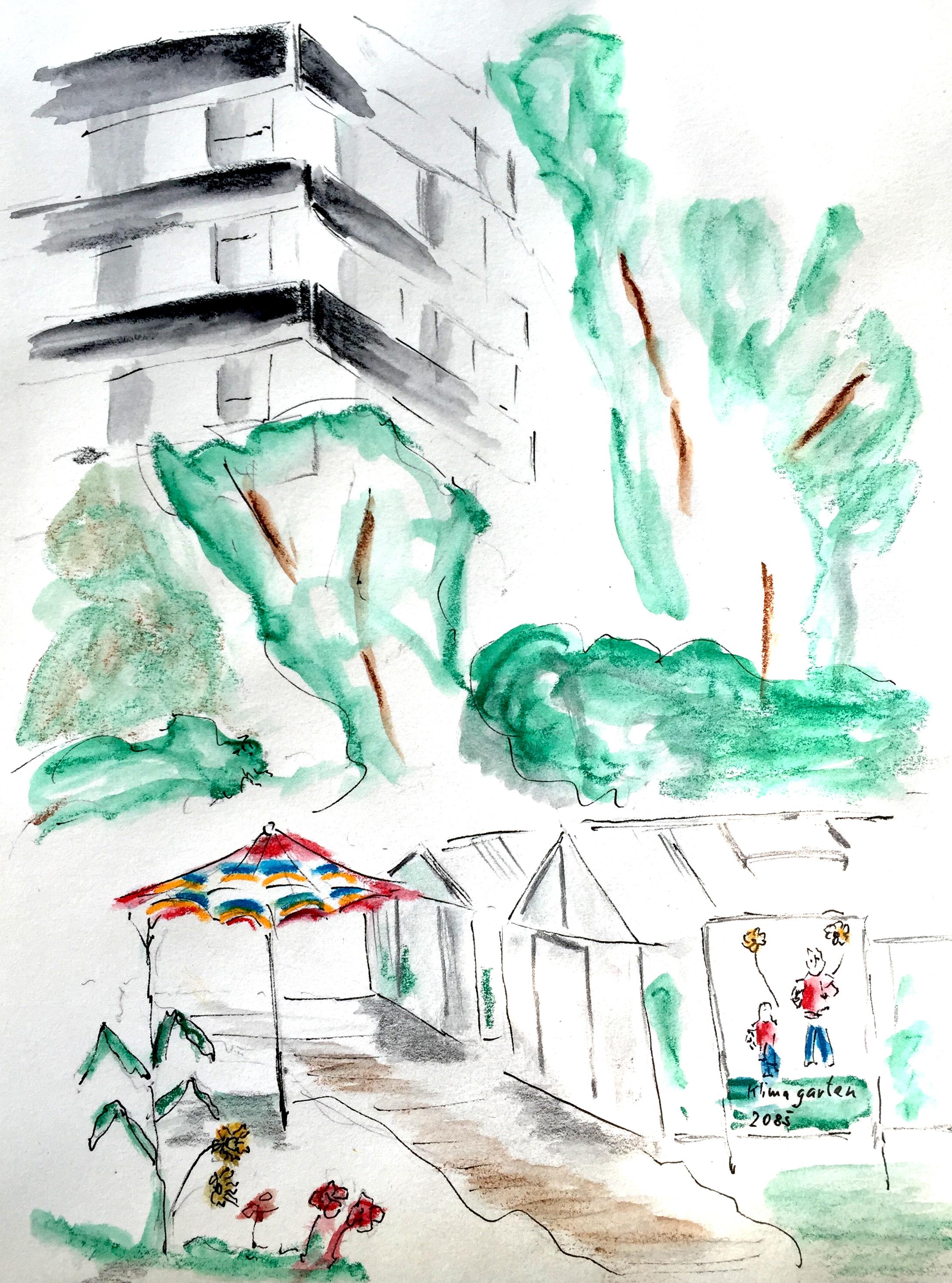 Andrea Hubacher, alter Botanischer Garten,16.8.16