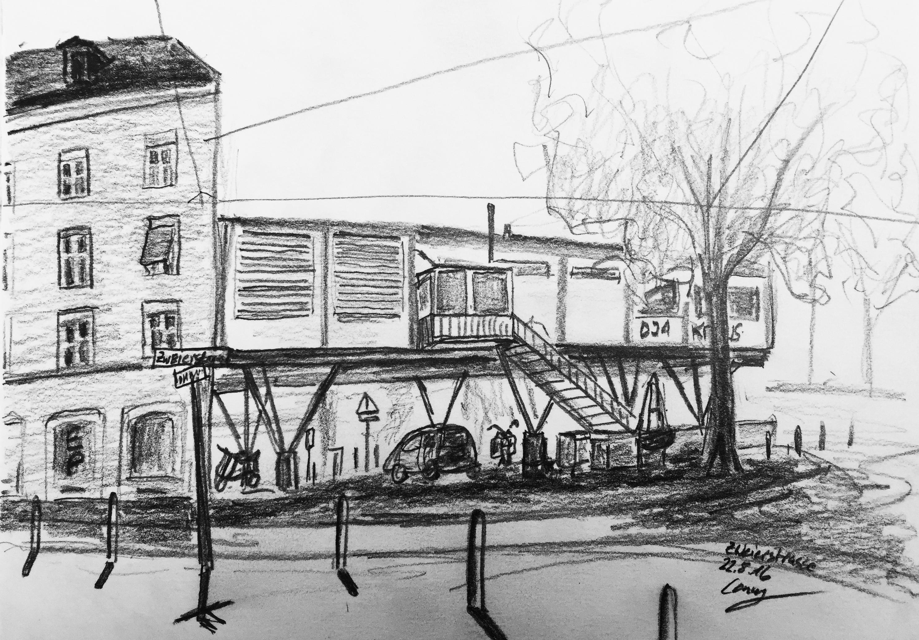 Urban Sketching, 2016, Sommerkurs