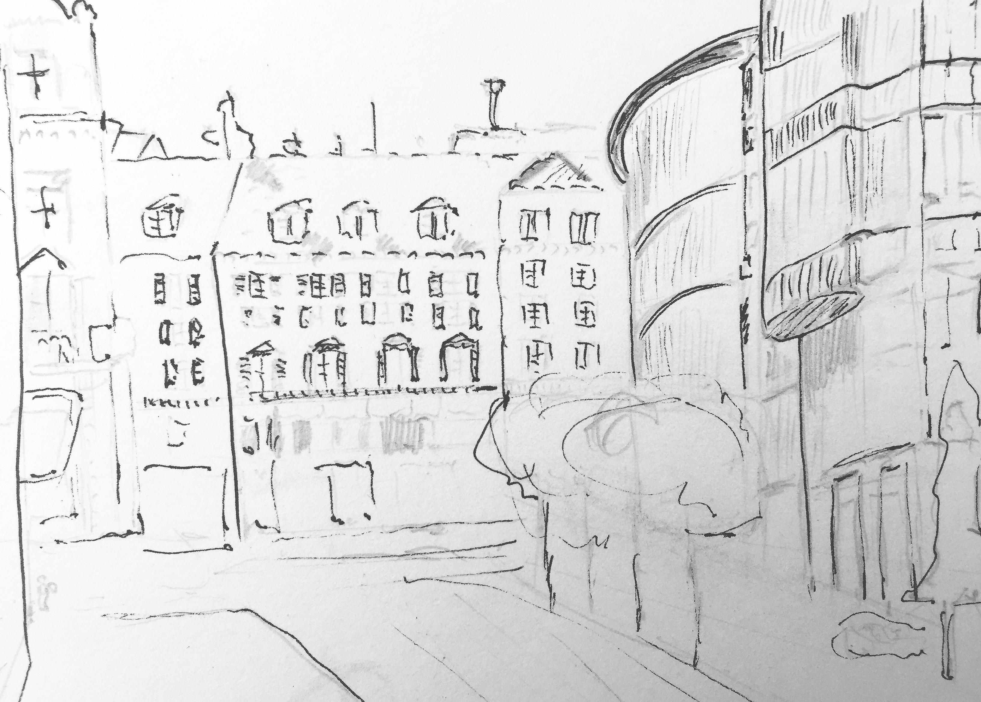 Walter Ruedlinger, Talackerstrasse