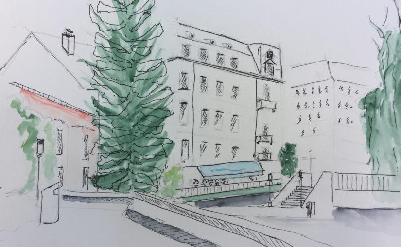 Zeichnen in Zürich 2017