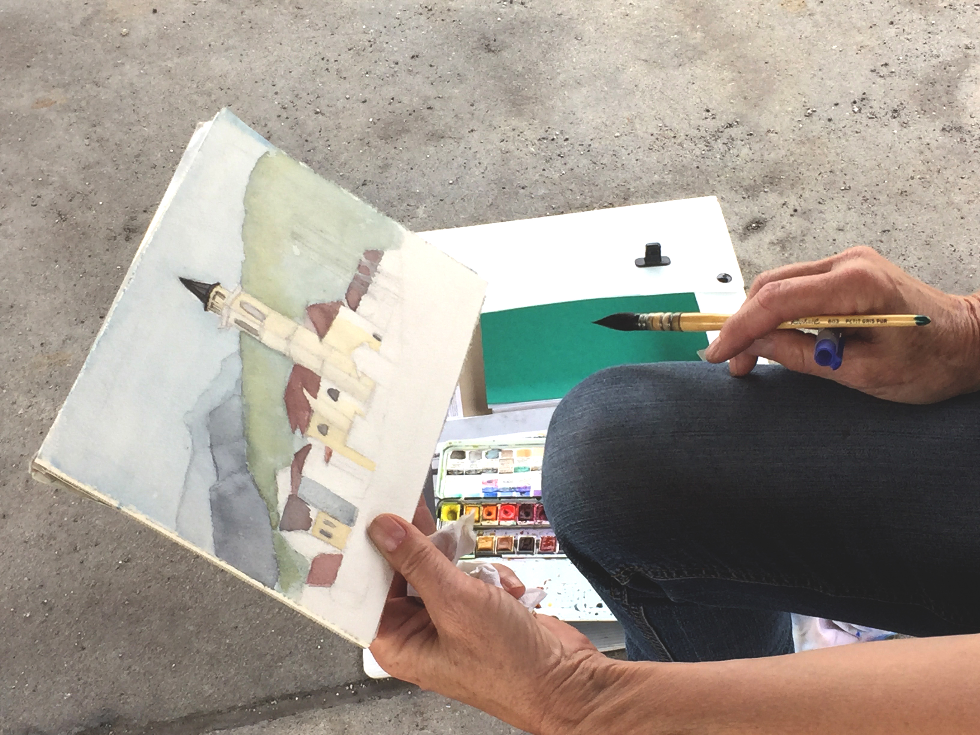 Caviano, Urban Sketching, Workshopwoch,Astrid Amadeo