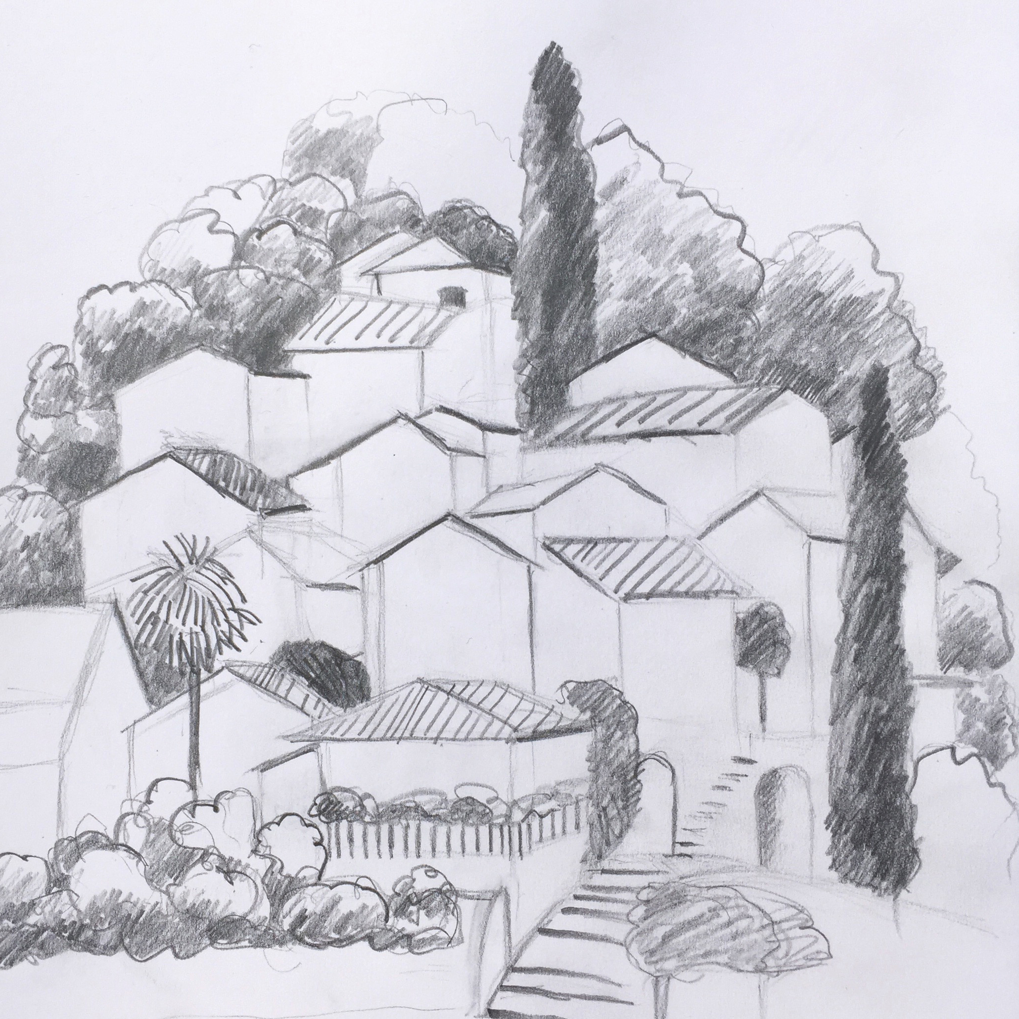 St. Abbondio, Urban Sketching, Workshopwoch,Astrid Amadeo