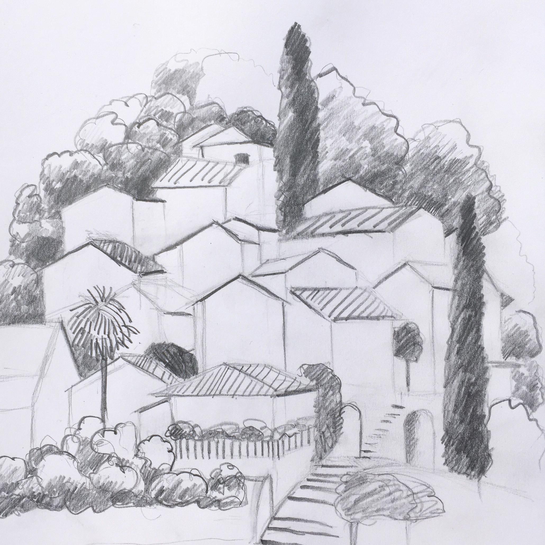 St. Abbondio, Urban Sketching, Workshopwoch,Astrid Amadeo