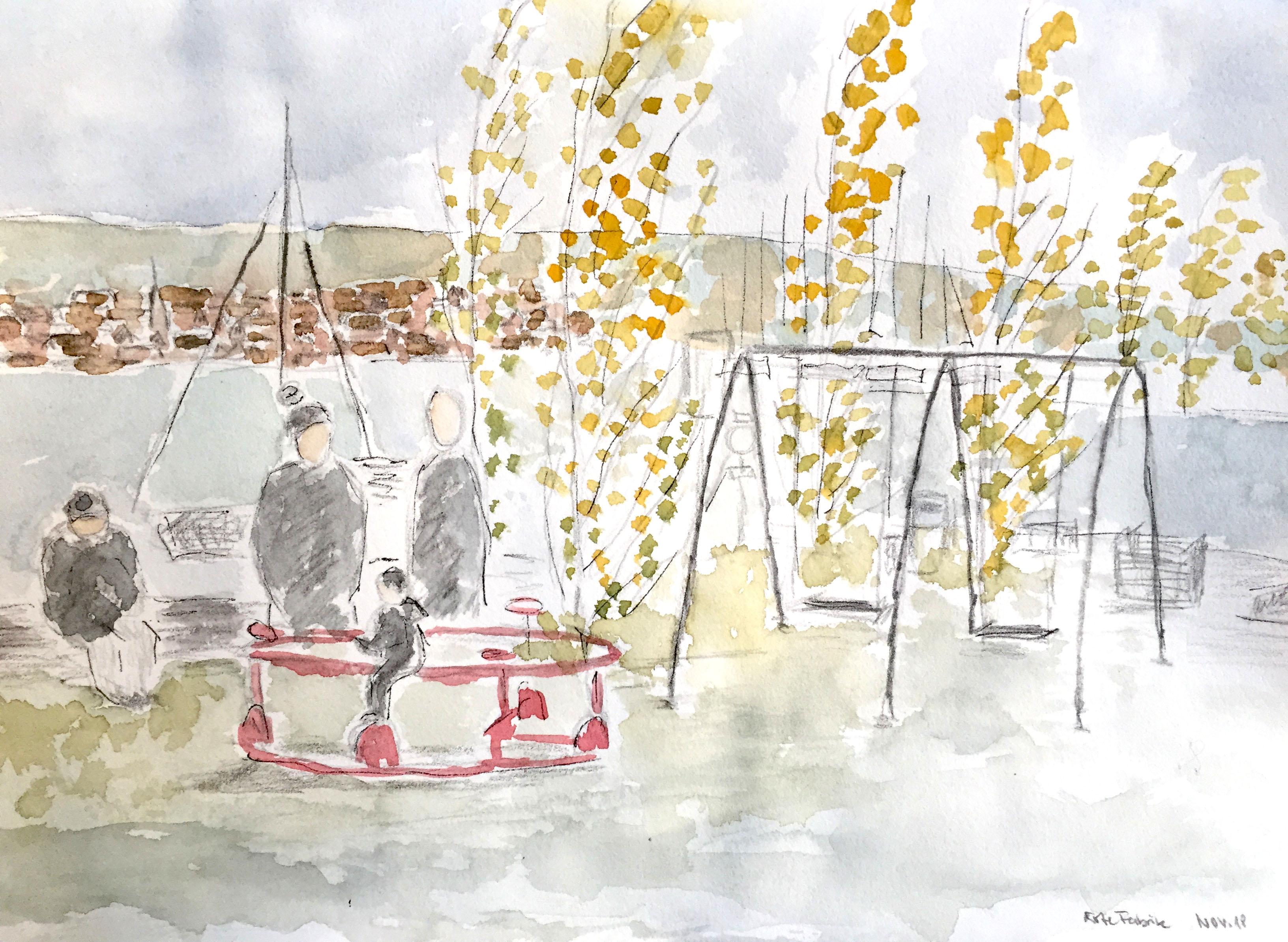 Elke Heinert, Spielplatz Rote Fabrik