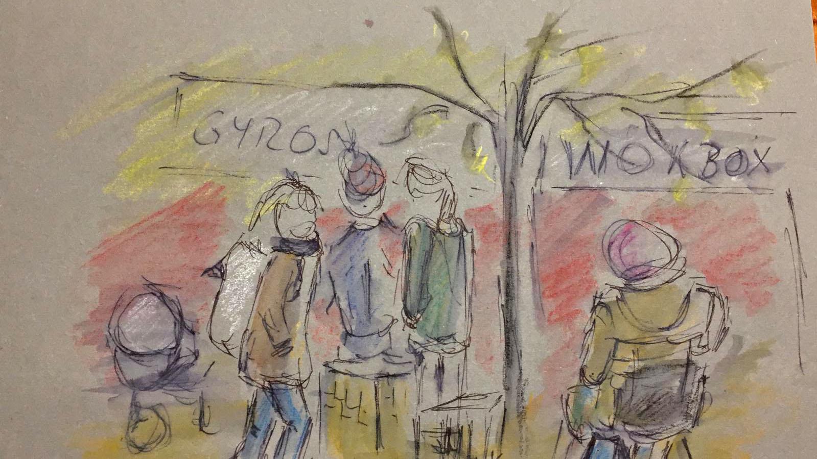 Maya Schultze, Weihnachtsmarkt